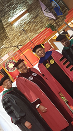 Dr. James E.K. Hildreth with the Meharry Medical College Board of Trustees
